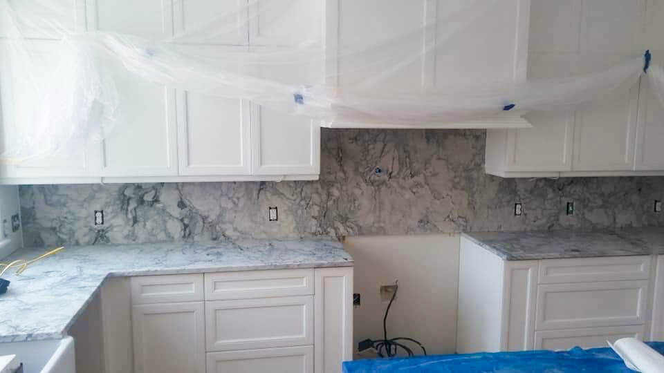 granite countertops kitchen